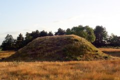 Sutton Hoo Burial Mound. Photo by Geoff Dallimore