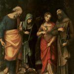 Correggio's image of Saint Leonard