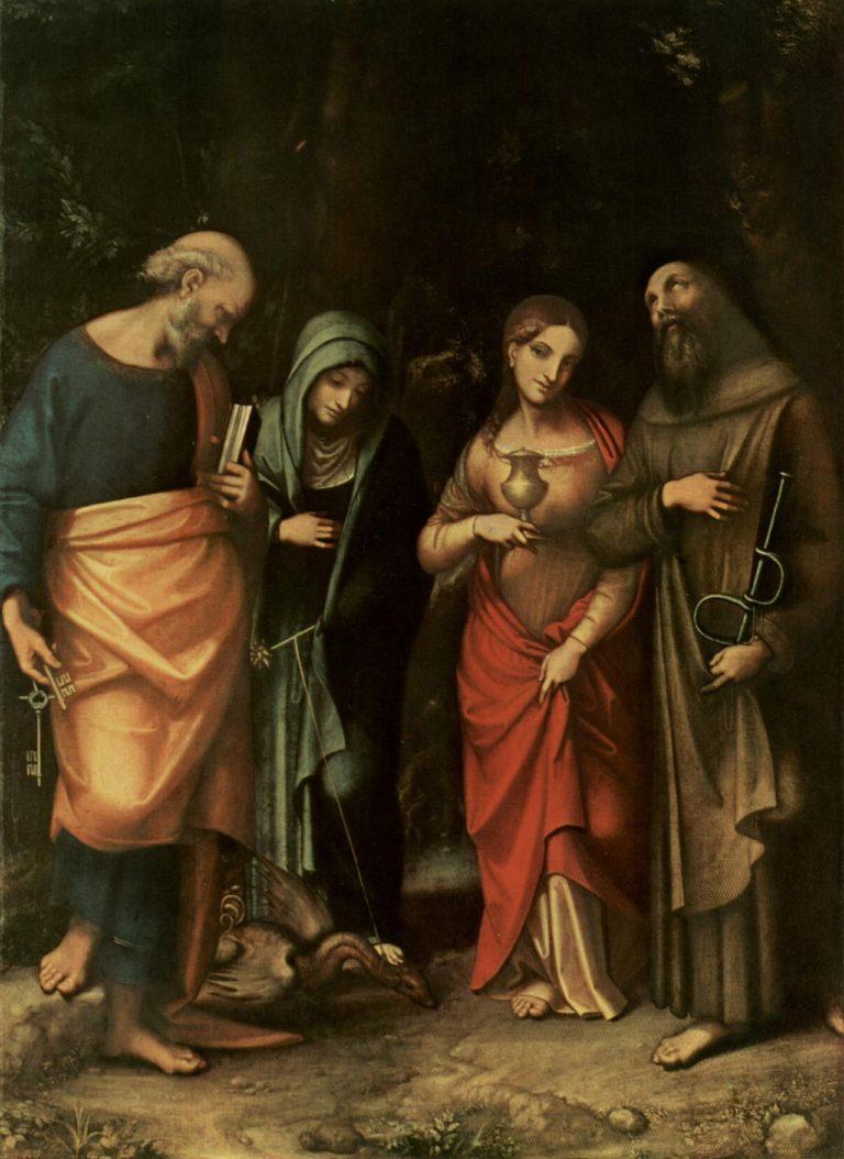 Correggio's Picture of Legend St Leonard