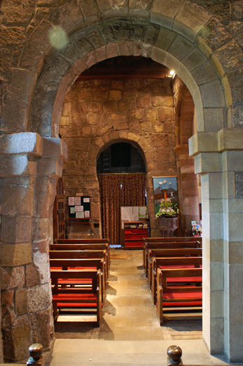 The Anglo Saxon part of the church at Kirk Hammerton